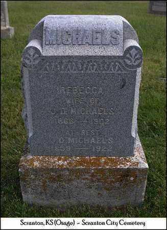 MICHAELS, J  D - Osage County, Kansas | J  D MICHAELS - Kansas Gravestone Photos