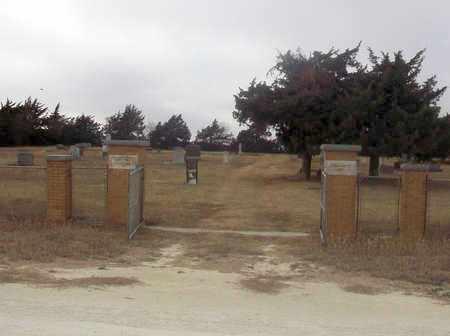 *ENTRANCE,  - Osborne County, Kansas    *ENTRANCE - Kansas Gravestone Photos