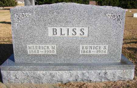 BLISS, EUNICE SARAH - Osborne County, Kansas | EUNICE SARAH BLISS - Kansas Gravestone Photos