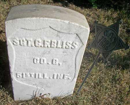 BLISS, CORNELIUS FREEMAN  (VETERAN UNION) - Osborne County, Kansas | CORNELIUS FREEMAN  (VETERAN UNION) BLISS - Kansas Gravestone Photos