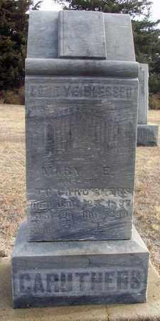 PRICE CARUTHERS, MARY ELIZABETH - Osborne County, Kansas | MARY ELIZABETH PRICE CARUTHERS - Kansas Gravestone Photos
