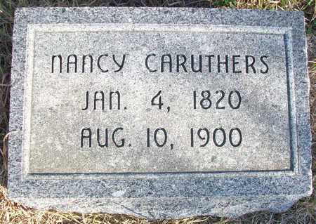 CARUTHERS, NANCY JANE - Osborne County, Kansas | NANCY JANE CARUTHERS - Kansas Gravestone Photos