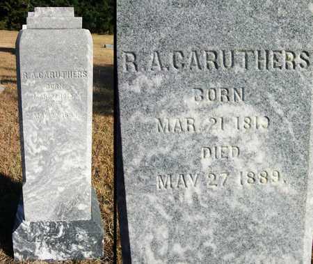 CARUTHERS, RICHARD ALEXANDER, REV - Osborne County, Kansas | RICHARD ALEXANDER, REV CARUTHERS - Kansas Gravestone Photos