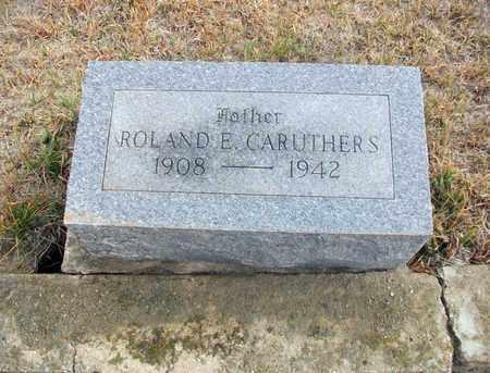 CARUTHERS, ROLAND EUGENE - Osborne County, Kansas | ROLAND EUGENE CARUTHERS - Kansas Gravestone Photos