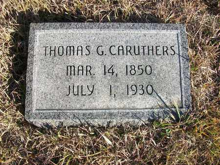 CARUTHERS, THOMAS GEORGE - Osborne County, Kansas | THOMAS GEORGE CARUTHERS - Kansas Gravestone Photos