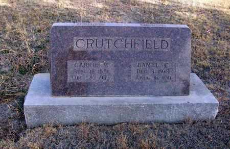 CRUTCHFIELD, DANIEL C - Osborne County, Kansas | DANIEL C CRUTCHFIELD - Kansas Gravestone Photos