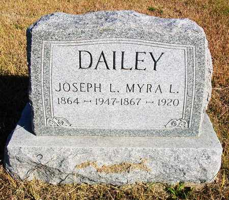 DAILEY, JOSEPH L - Osborne County, Kansas | JOSEPH L DAILEY - Kansas Gravestone Photos