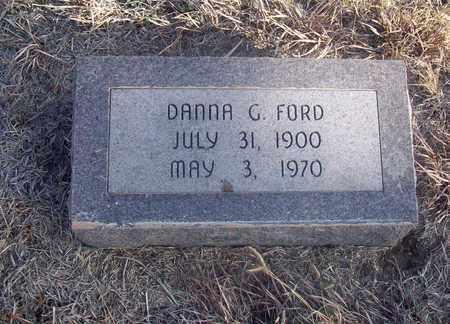 FORD, DANNA G - Osborne County, Kansas   DANNA G FORD - Kansas Gravestone Photos