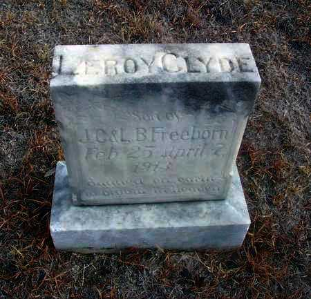 FREEBORN, LEROY CLYDE - Osborne County, Kansas | LEROY CLYDE FREEBORN - Kansas Gravestone Photos