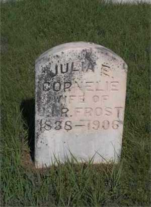 FROST, JULIA  ELIZABETH - Osborne County, Kansas | JULIA  ELIZABETH FROST - Kansas Gravestone Photos