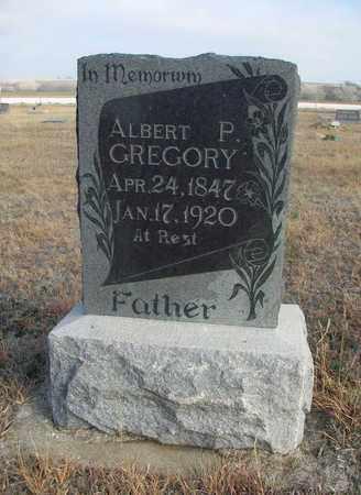 GREGORY, ALBERT P - Osborne County, Kansas | ALBERT P GREGORY - Kansas Gravestone Photos
