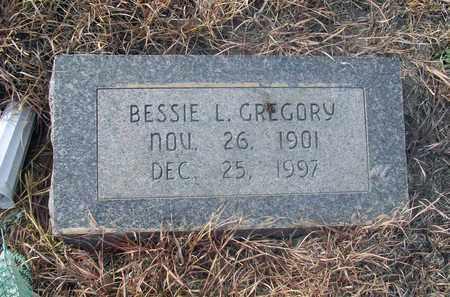 GREGORY, BESSIE LUELLA - Osborne County, Kansas | BESSIE LUELLA GREGORY - Kansas Gravestone Photos