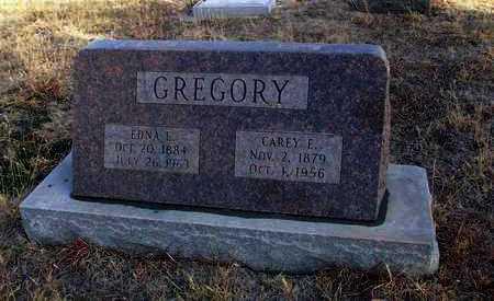 GREGORY, EDNA L - Osborne County, Kansas | EDNA L GREGORY - Kansas Gravestone Photos