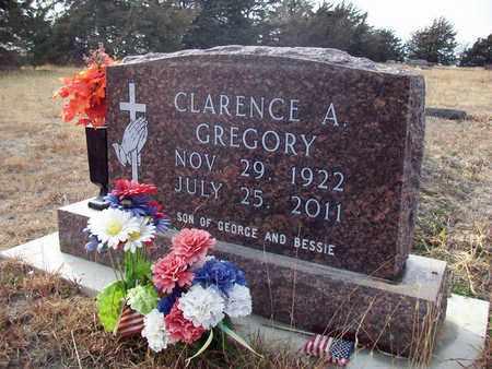 GREGORY, CLARENCE A - Osborne County, Kansas | CLARENCE A GREGORY - Kansas Gravestone Photos