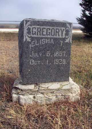 GREGORY, ELISHA T - Osborne County, Kansas | ELISHA T GREGORY - Kansas Gravestone Photos