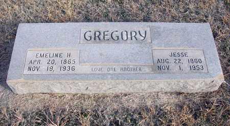GREGORY, JESSE - Osborne County, Kansas | JESSE GREGORY - Kansas Gravestone Photos