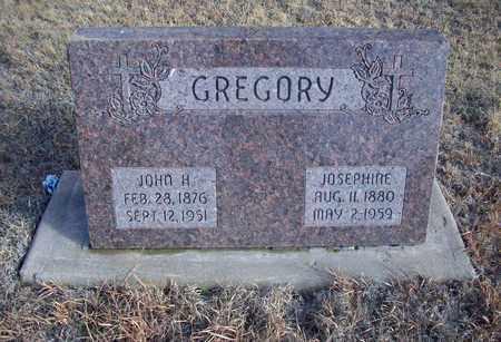 GREGORY, JOHN H - Osborne County, Kansas | JOHN H GREGORY - Kansas Gravestone Photos