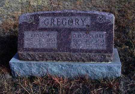 GREGORY, OBEDIAH H - Osborne County, Kansas | OBEDIAH H GREGORY - Kansas Gravestone Photos