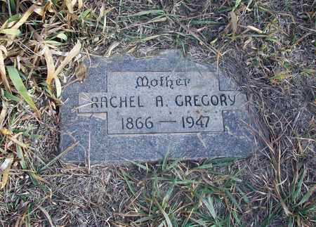 GREGORY, RACHEL A - Osborne County, Kansas   RACHEL A GREGORY - Kansas Gravestone Photos
