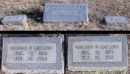"GREGORY, VIRGINIA MILES ""JENNIE"" - Osborne County, Kansas | VIRGINIA MILES ""JENNIE"" GREGORY - Kansas Gravestone Photos"