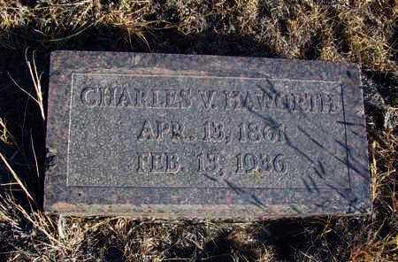 HAWORTH, CHARLES V - Osborne County, Kansas   CHARLES V HAWORTH - Kansas Gravestone Photos