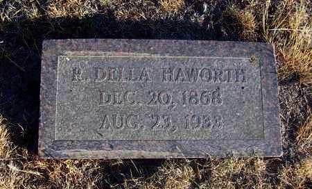 HAWORTH, ROSELLA DELLA - Osborne County, Kansas | ROSELLA DELLA HAWORTH - Kansas Gravestone Photos