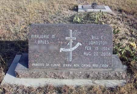 JOHNSTON, BILL EUGENE - Osborne County, Kansas | BILL EUGENE JOHNSTON - Kansas Gravestone Photos