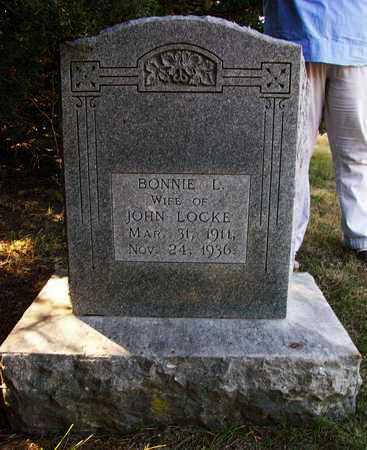 LOCKE, BONNIE L - Osborne County, Kansas | BONNIE L LOCKE - Kansas Gravestone Photos