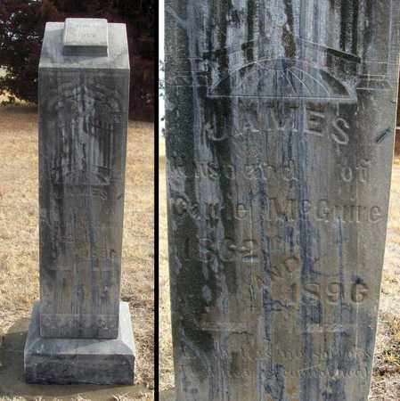 MCGUIRE, JAMES - Osborne County, Kansas   JAMES MCGUIRE - Kansas Gravestone Photos