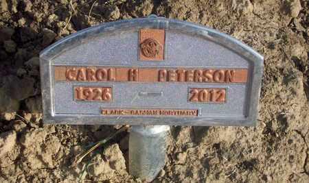 PETERSON, CAROL H - Osborne County, Kansas | CAROL H PETERSON - Kansas Gravestone Photos