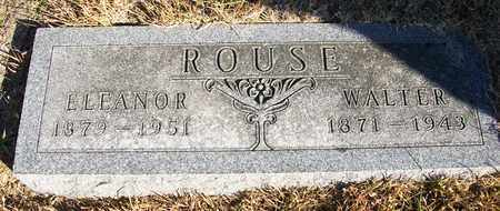 ROUSE, CHRIS DAVIS WALTER - Osborne County, Kansas | CHRIS DAVIS WALTER ROUSE - Kansas Gravestone Photos