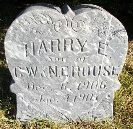 ROUSE, HARRY EUGENE - Osborne County, Kansas | HARRY EUGENE ROUSE - Kansas Gravestone Photos