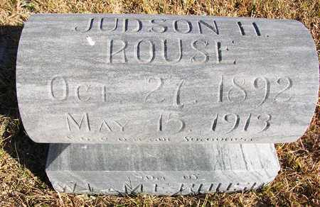 ROUSE, JUDSON H - Osborne County, Kansas | JUDSON H ROUSE - Kansas Gravestone Photos