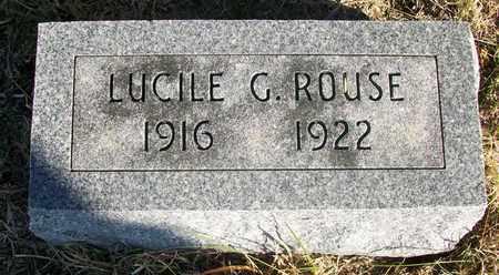 ROUSE, LUCILE GWENDOLYN - Osborne County, Kansas | LUCILE GWENDOLYN ROUSE - Kansas Gravestone Photos