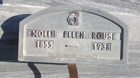 "ROUSE, MARY ELLEN ""MOLLIE"" (SMALL MARKER) - Osborne County, Kansas | MARY ELLEN ""MOLLIE"" (SMALL MARKER) ROUSE - Kansas Gravestone Photos"
