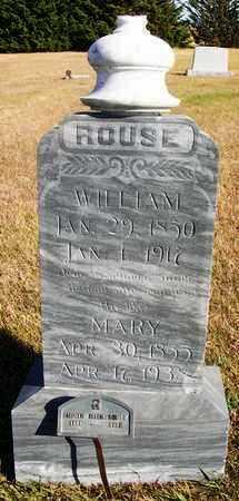 "ROUSE, MARY ELLEN ""MOLLIE"" - Osborne County, Kansas | MARY ELLEN ""MOLLIE"" ROUSE - Kansas Gravestone Photos"