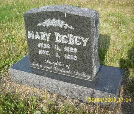 DEBEY, MARY - Phillips County, Kansas   MARY DEBEY - Kansas Gravestone Photos