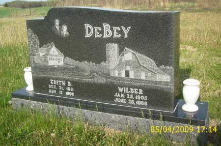 DEBEY, EDITH BERNIECE - Phillips County, Kansas   EDITH BERNIECE DEBEY - Kansas Gravestone Photos