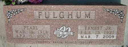 FULGHUM , ERNEST, JR - Phillips County, Kansas | ERNEST, JR FULGHUM  - Kansas Gravestone Photos