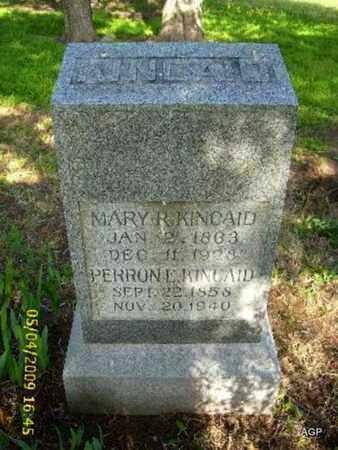 KINCAID, MARY ARILLA - Phillips County, Kansas | MARY ARILLA KINCAID - Kansas Gravestone Photos