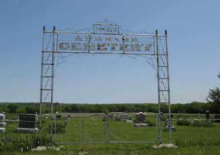 * ENTRANCE,  - Pottawatomie County, Kansas    * ENTRANCE - Kansas Gravestone Photos