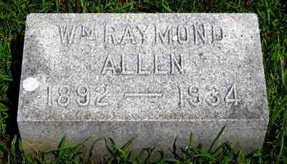 ALLEN, WILLIAM RAYMOND - Pottawatomie County, Kansas   WILLIAM RAYMOND ALLEN - Kansas Gravestone Photos