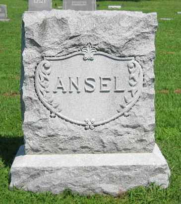 ANSEL, FAMILY STONE - Pottawatomie County, Kansas | FAMILY STONE ANSEL - Kansas Gravestone Photos
