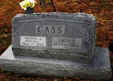 CASS, EMILE E - Pottawatomie County, Kansas   EMILE E CASS - Kansas Gravestone Photos