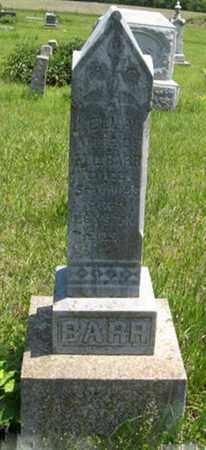 WHEARTY BARR, ELLA - Pottawatomie County, Kansas | ELLA WHEARTY BARR - Kansas Gravestone Photos