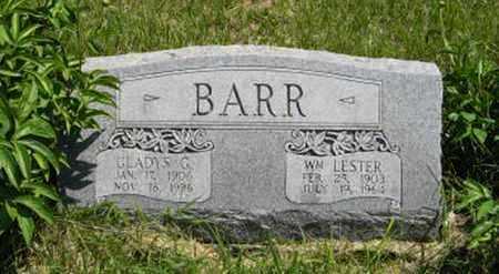BARR, WILLIAM LESTER - Pottawatomie County, Kansas | WILLIAM LESTER BARR - Kansas Gravestone Photos