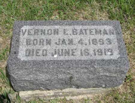 BATEMAN, VERNON L - Pottawatomie County, Kansas   VERNON L BATEMAN - Kansas Gravestone Photos
