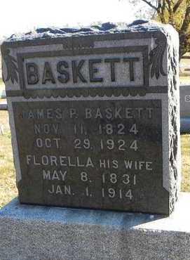 BASKETT, JAMES PARRISH - Pottawatomie County, Kansas | JAMES PARRISH BASKETT - Kansas Gravestone Photos