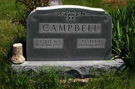 CAMPBELL, LESTER F - Pottawatomie County, Kansas | LESTER F CAMPBELL - Kansas Gravestone Photos
