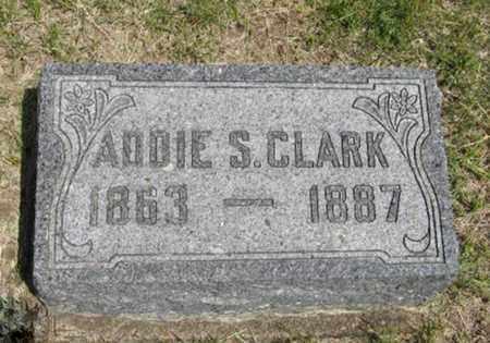 CLARK, ADDIE S - Pottawatomie County, Kansas | ADDIE S CLARK - Kansas Gravestone Photos